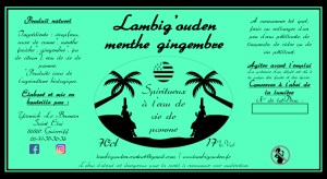 Lambig'ouden menthe gingembre