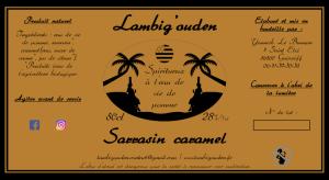 Lambig arrangé sarrasin caramel