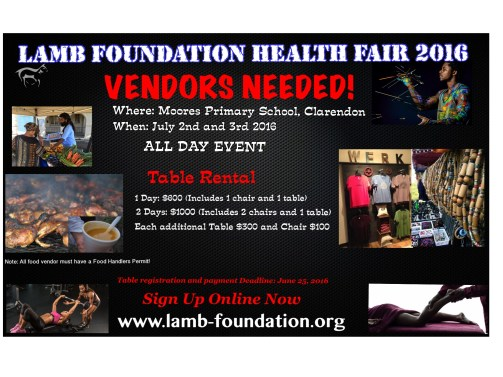 LAMB Health Fair July 2016