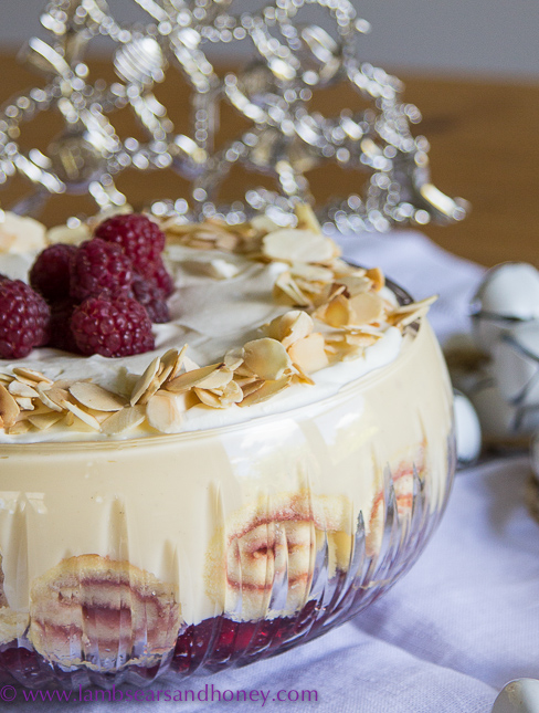 Raspberry Amp White Chocolate Trifle Lambs Ears And Honey A Food Amp Travel Blog