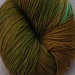 Superwash Sock Yarn - Rockside Moss