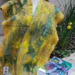 Cobweb Felted Scarf Kit