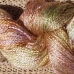 Hand-dyed 100% Silk  - Hops Vine