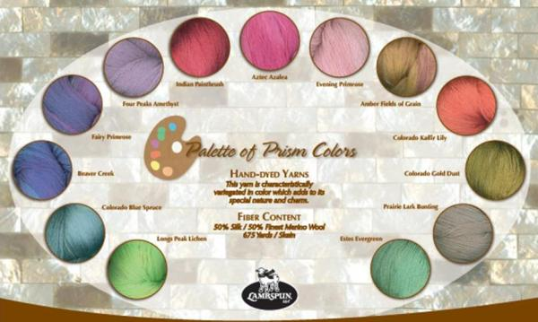A Palette of Prism Yarn Colors -- Coming for This Fall!