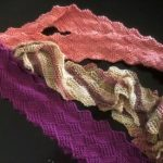 Not Entirely Entrelac Scarf