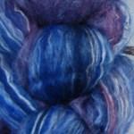 Merino/Silk Fiber - Cornflowers
