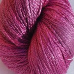 Hand-dyed 100% Silk  - Fuschia