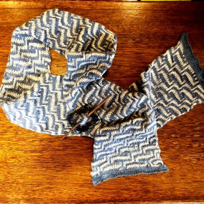 Mosaic Colorwork – All levels: Jan. 8th. 15th, 22nd