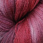 Hand-dyed 100% Silk  - Winter Berry Silk