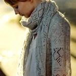 Shetland Lace Stole