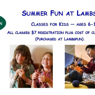 Summer Kids' Classes — Sign Up Now!