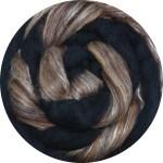 Merino/Silk Fiber - Pine  Cones