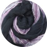 Hand-dyed Merino/Silk Fiber - Colorado Hairy Clematis