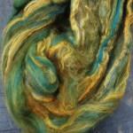 Hand-dyed Merino/Silk Fiber - Wolf Moon