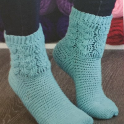 Crocheted Socks Workshop: Dec. 4th, 11th, 18th