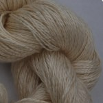 Hand-dyed 100% Silk  - Natural