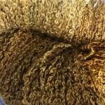 Hand-dyed 100% Silk Bouclé - Tiger's Eye