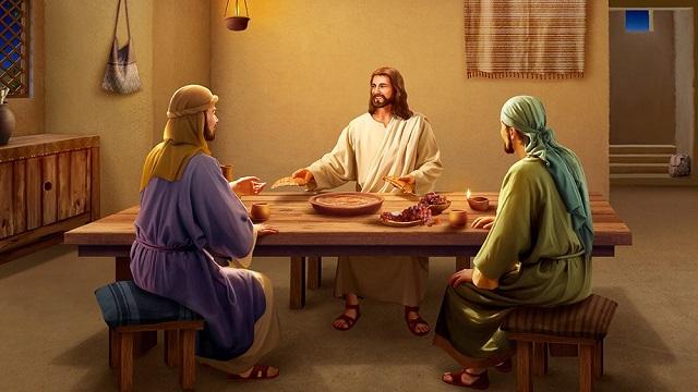 主耶穌 復活 講經 吃餅