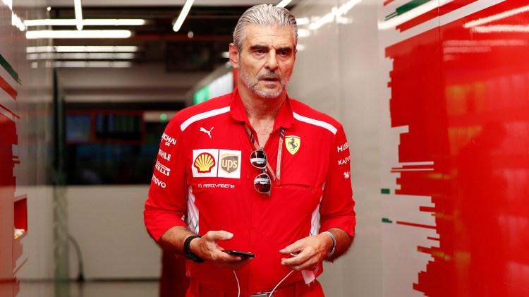 Maurizio Arrivabene, director deportivo de Ferrari, le abrió las puertas al hijo de Schumacher (Reuters)