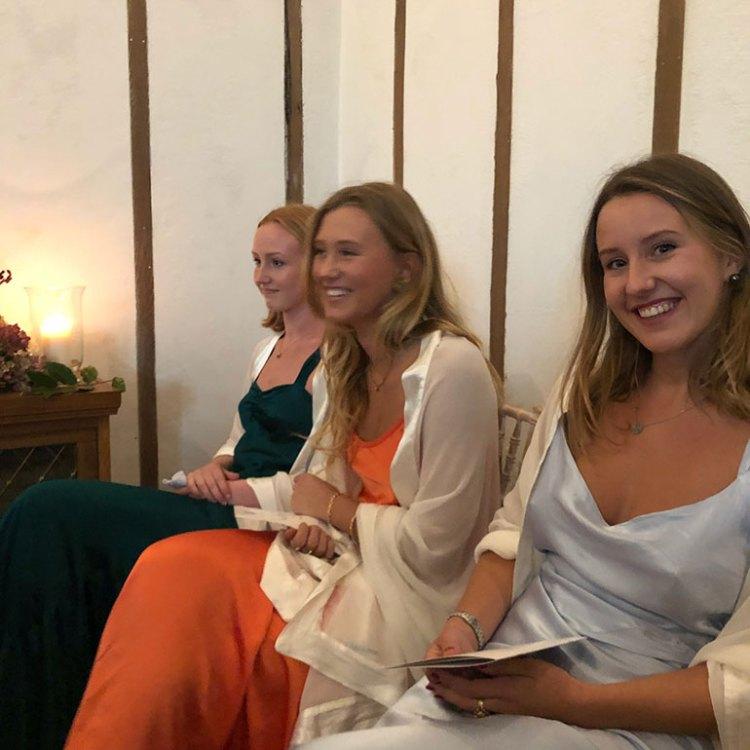 Las tres hijas de Lord Ivar Mountbatten