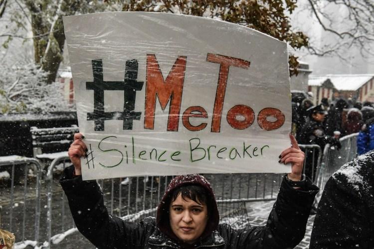 Una manifestación bajo el lema #MeToo, en los Estados Unidos