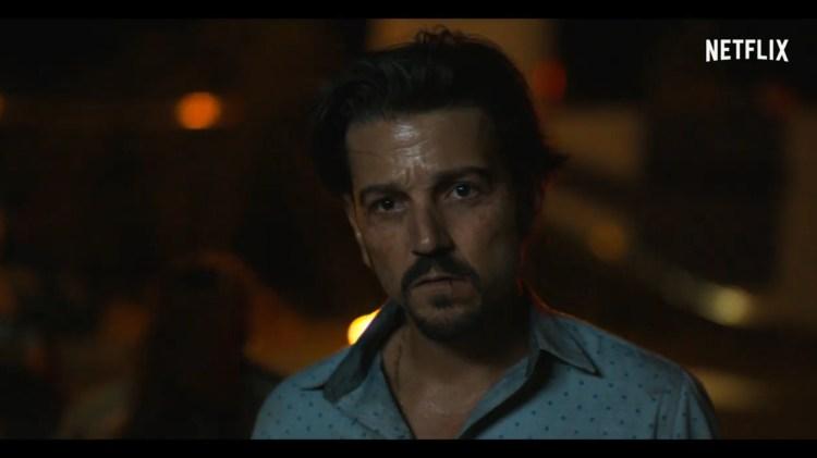 Diego Luna ha recibido críticas por personificar a un capo mexicano