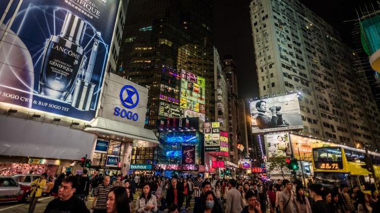 Causeway Bay, es la nueva avenida más cara del mundo