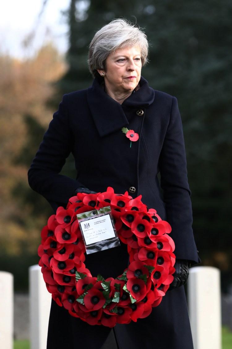 (Photo by Gareth Fuller / POOL / AFP)