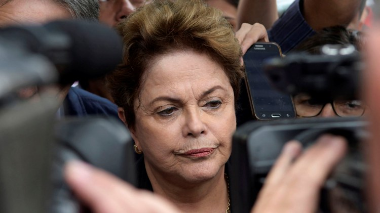Dilma Rousseff, ex presidente de Brasil (Reuters)