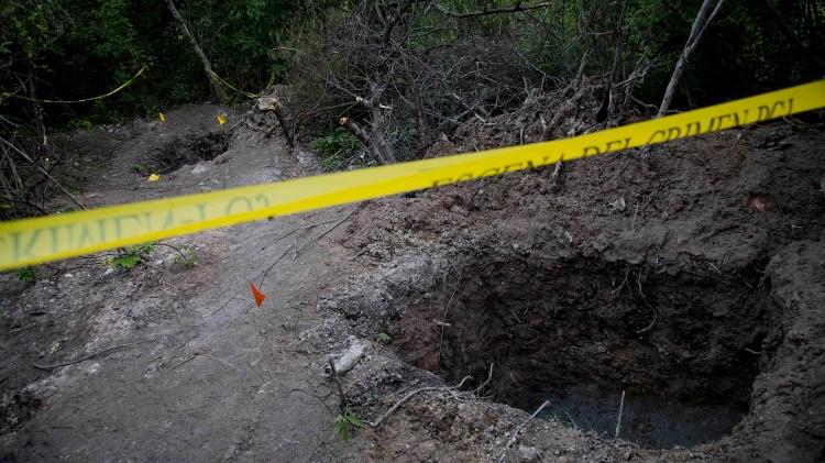 En 11 años se han encontrado en México más de 1.000fosas clandestinas (AP)
