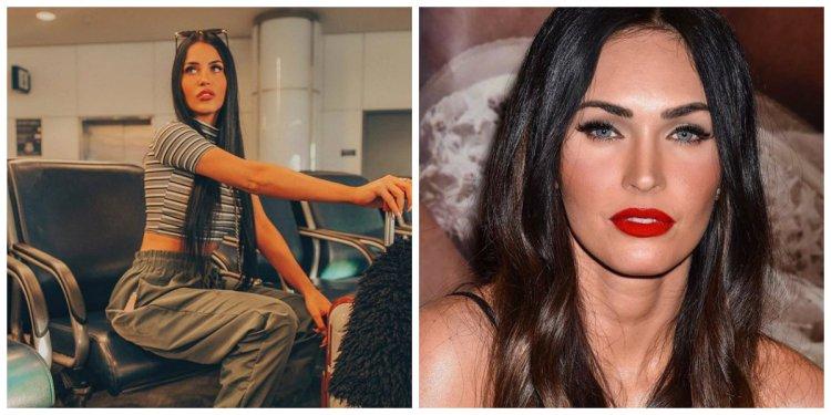 La modelo ha sido comparada con Megan Fox por su parecido (Foto: Twitter)