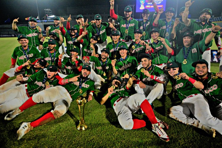 México consiguió su primer título mundial sub-23 de béisbol (Foto: WBSC.com)