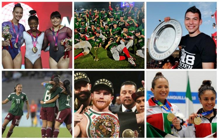 Los atletas mexicanos que más destacaron en 2018 (Foto: Archivo)