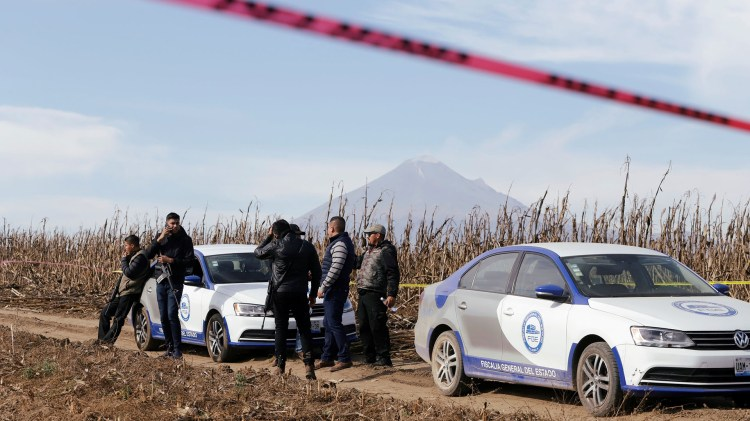 Área en la que cayó el helicóptero donde viajaban los políticos(Foto: REUTERS/Imelda Medina)