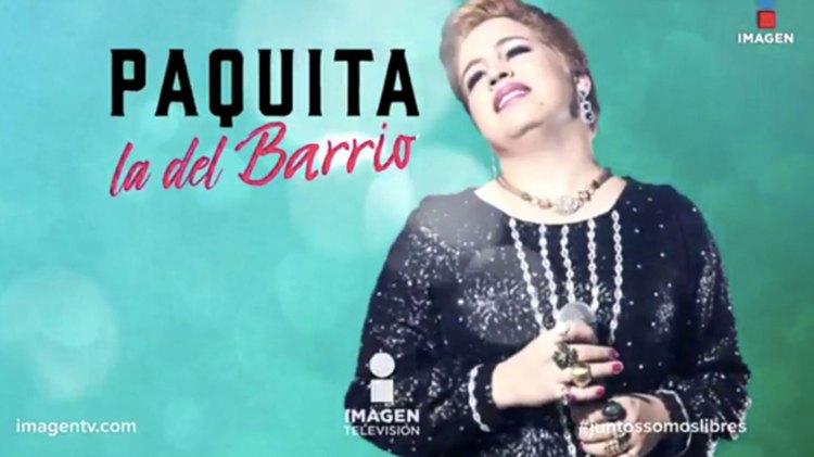 La serie sobre Paquita la del Barrio se transmitió en la cadena mexicana Imagen Televisión