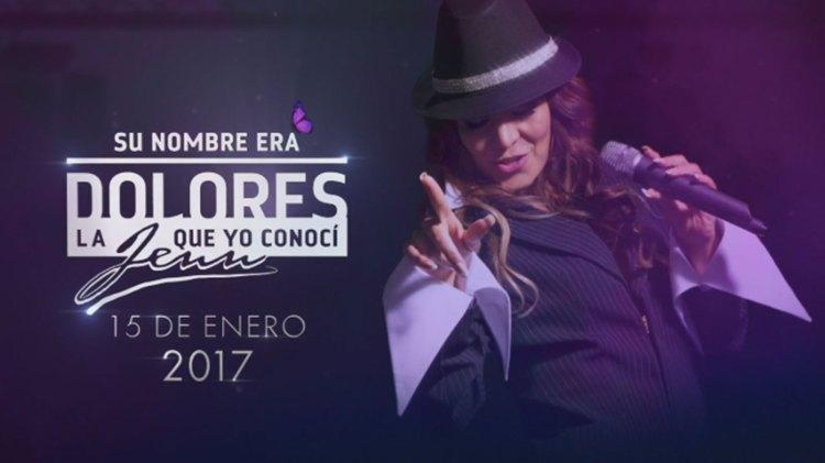 """Luz Ramos se convirtió en Jenni Rivera para la serie biográfica. La actriz trabajó en la serie """"Hasta que te conocí"""" en el personaje de """"La Meche"""""""