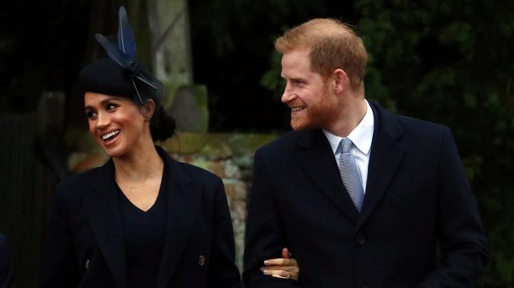El hijo de Meghan Markle y el príncipe Harry naceráen la primavera europea (Reuters)