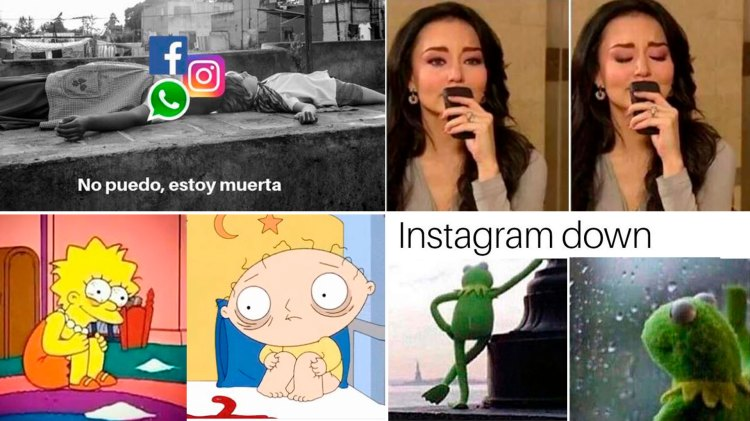 Lo usuarios de las redes sociales mostraron su desesperación por la caída de Facebook, Twitter y WhatsApp (Foto: Twitter)