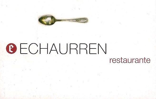 restaurante echaurren