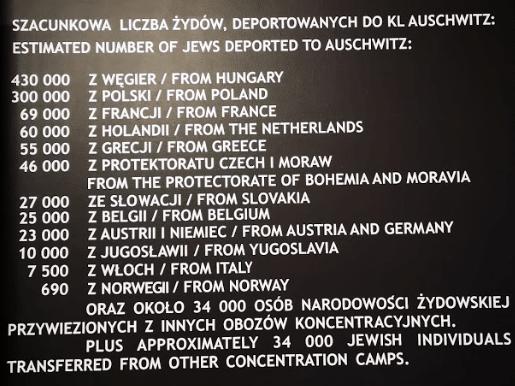 numero di ebrei deportati