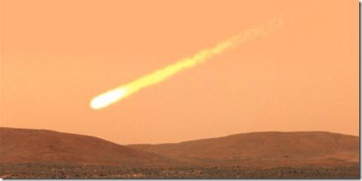cometa marte