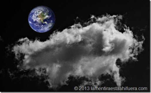 nube espacial