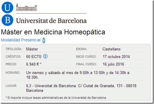 master homeopatia