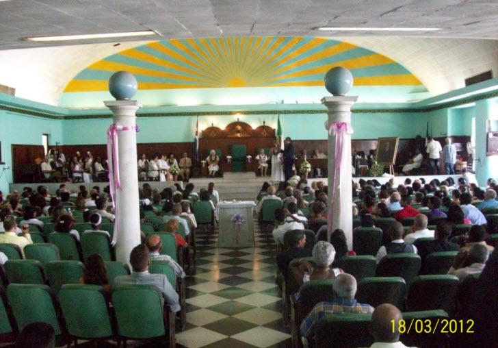 salon masonico Cuba