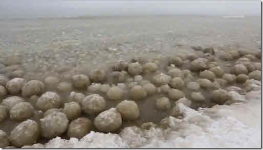 bolas de hielo