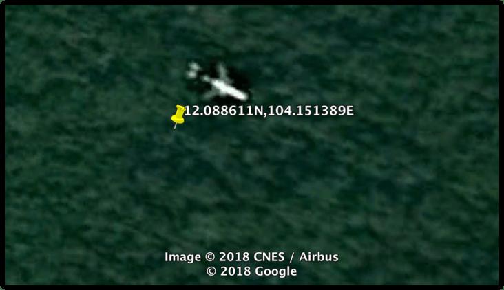 Un hombre afirma haber encontrado en Google Earth el desaparecido MH370