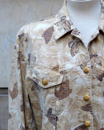 Cazadora de Kenzo Jeans con estampado de mariposas