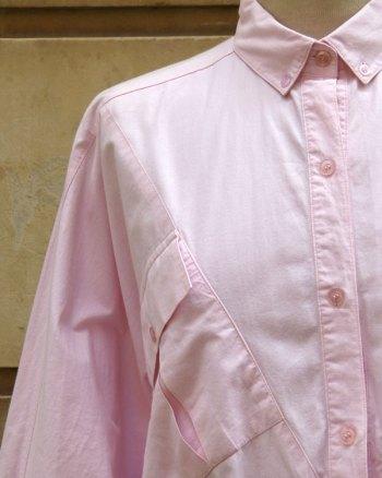 Blusa Oversize 80's de corte murcielago