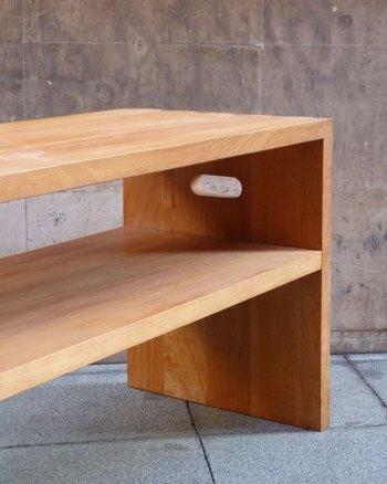 Mesa de centro de madera de haya