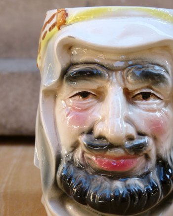 Sheik with Keffieh Toby Jug
